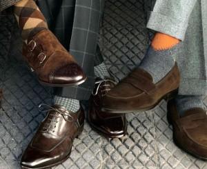 cómo combinar tus calcetines