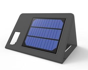Recarga tu tablet con una funda solar