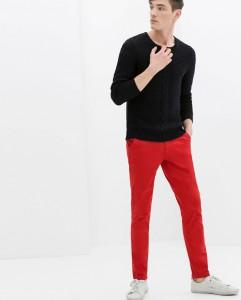 Luce tus pantalones rojos
