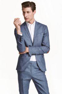 americana de lino de H&M
