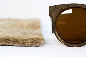 Gafas de Sol hechas con marihuana