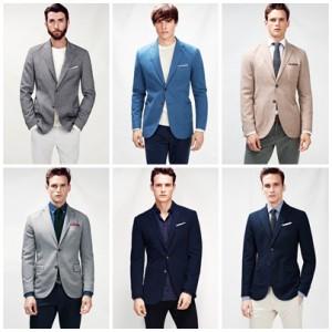 blazers informales de H.E. by Mango