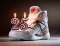 Reeboks Pump con velas por aniversario