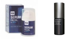 serums faciales de R.B.B: y Shiseido