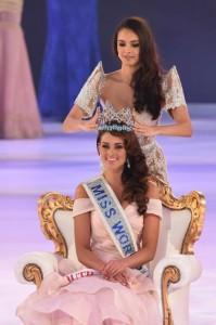 coronación de Miss Mundo 2014