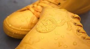 Zapatillas de lluvia amarillas de Converse