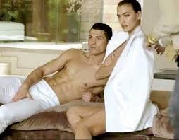 Cristiano Ronaldo e Irina para Vogue