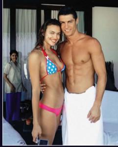 Cristiano Ronaldo e Irina