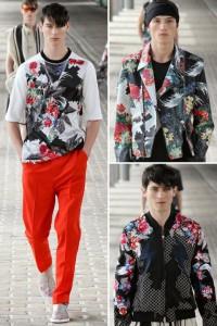 modelos de philip lim con prendas en dark floral