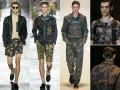 modelos con camisas dark floral hombre