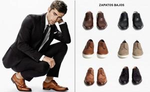 Modelos de zapatos bjaos para hombre de H&M