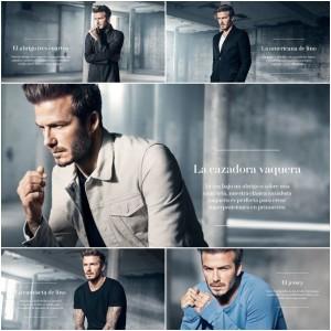 Imágenes de David Beckham para H&M