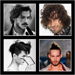 imágenes de peinados para hombre con efecto despeinado