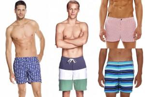 trajes de baño para hombre Verano 2015
