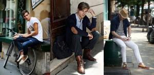 zapatos de hombre de diferentes estilos