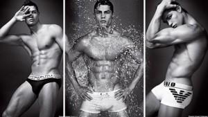 Cristiano Ronaldo en calzoncillos