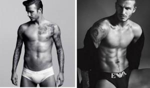 David Beckham aprovechando las ventajas de usar slips