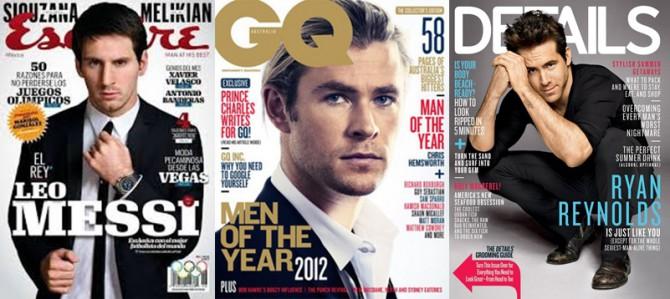 revistas de moda masculina