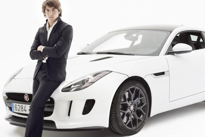 Roberto Merhi ha probado el Jaguar F Type