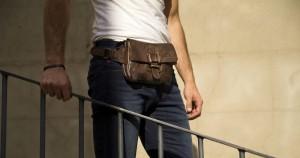 diferentes tipos de bolso masculino