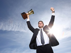 hombre de éxito