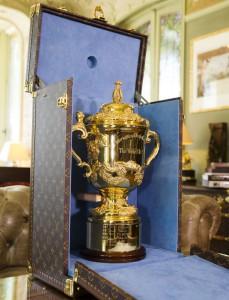 Louis Vuitton diseña el baúl para la Copa del Mundo de Rugby