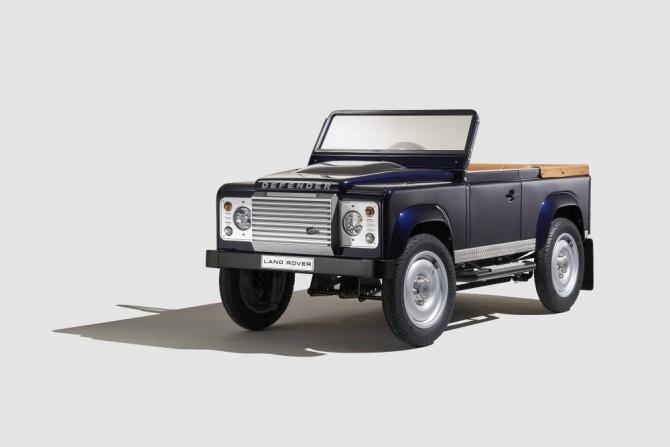 Land Rover Defender de pedales