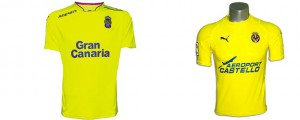 Camisetas de la Liga