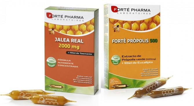 Jalea Real y Própolis para prevenir el catarro