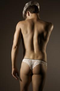 lencería para hombres Homme Mystere