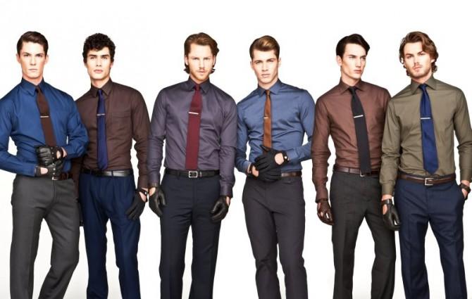 hombres con diferentes corbatas