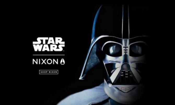 Star Wars presente en los complementos Nixon