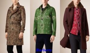 moda masculina de Burberry