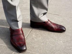 zapatos y traje