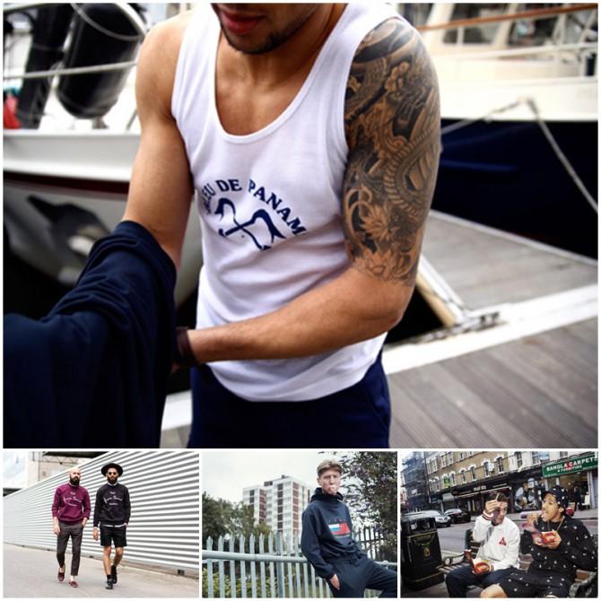 streetwear hombre de diferentes marcas
