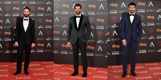 Premios Goya 2016, como vistieron ellos