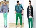 Pantalones verdes para hombre