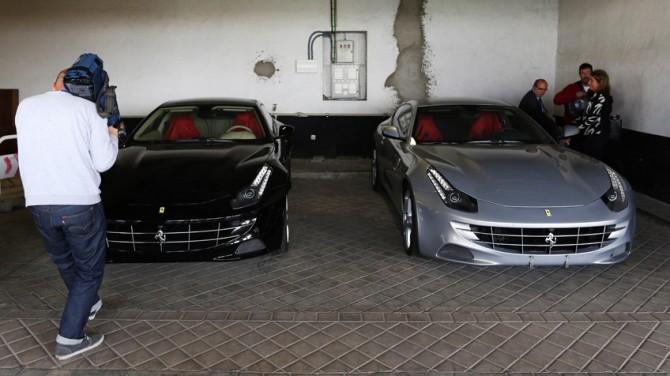 Los Ferraris del Rey Don Juan Carlos