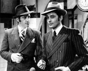 actores con sombrero borsalino en moda masculina
