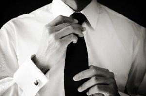 cuello camisa de novio