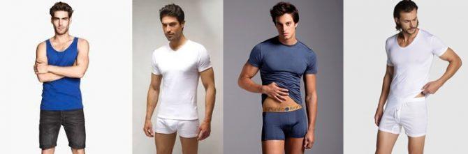 ropa interior masculina partes de arriba y tendencias