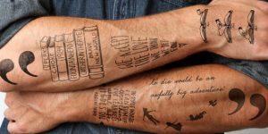 Ephemeral Tattoos