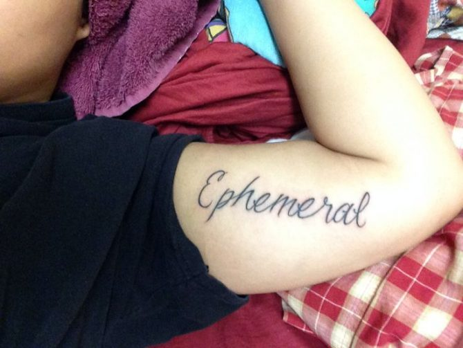 Ephemeral Tattoos