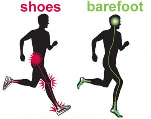 Ventajas del Barefoot running o correr descalzo