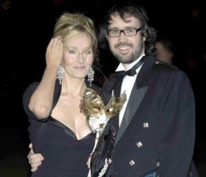 J.K. Rowling y marido