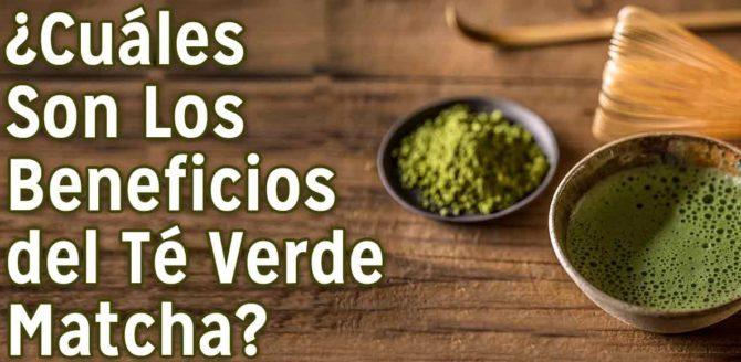 beneficios del té verde matcha