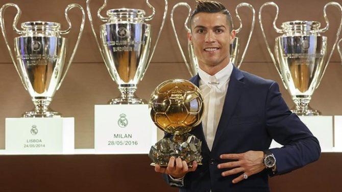 Cristiano Ronaldo Gana el Cuarto Balón de Oro