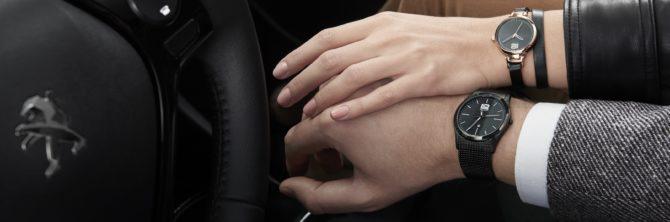 Peugeot presenta su colección de relojes
