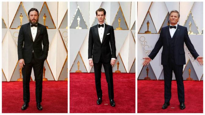 Looks masculinos en la gala de los Oscars 2017