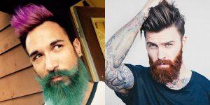 Teñir la barba se ha convertido en tendencia